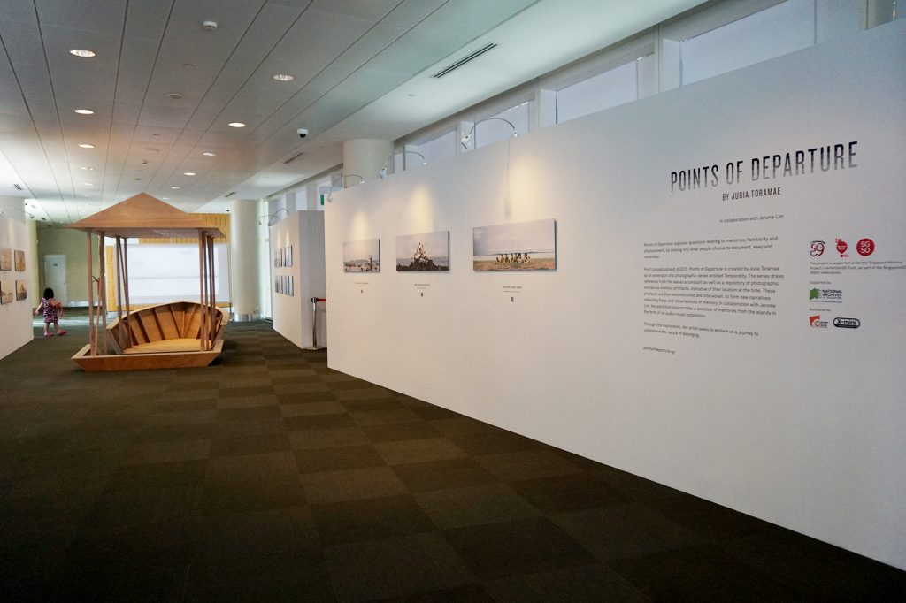 Installation View at National Library