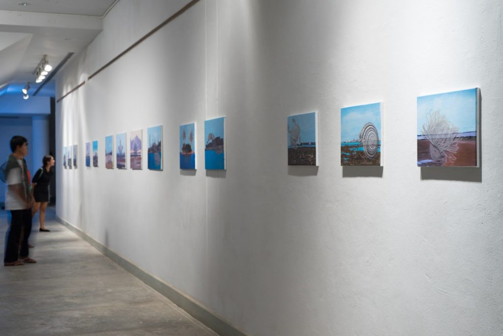 Installation View: Before the Grey Dawn Breaks